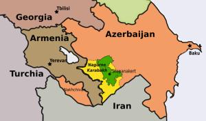 Il Nagorno-Karabakh, al centro del conflitto azero-armeno.