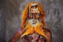Un uomo anziano della tribù Rabari, Rajasthan, 2010. Foto Ufficio Stampa mostra