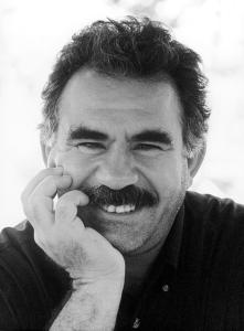 Abdullah Öcalan, leader del Partito dei Lavoratori Curdo (PKK)