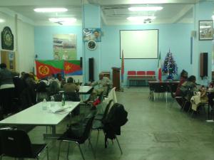 La sede della Comunità eritrea milanese in Via Temperanza