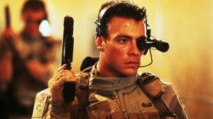 """Jean Claude Van Damme nel film """"Universal Soldier"""". Foto da movieboozer"""