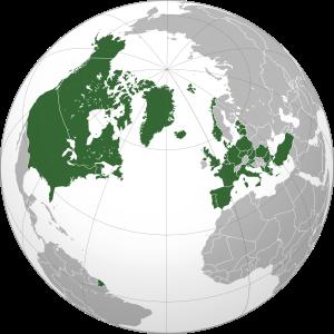 I paesi membri della Nato. Grafico da Wikipedia