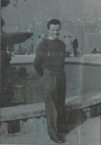 """Carlo Rovelli a 23 anni. La foto è stata pubblicata da Angelo Longhi sul giornale """"Zona 9"""" nel luglio 2011"""