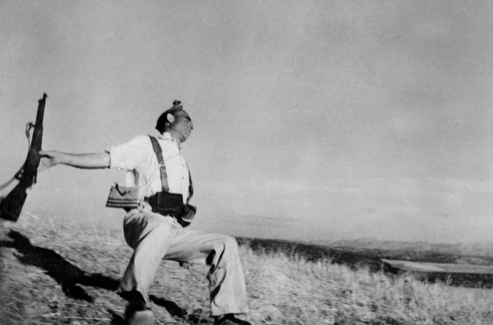 La guerra civile spagnola del 1936. © Robert Capa