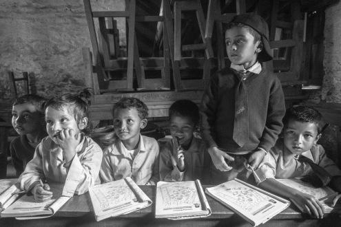 20-Una classe elementare della scuola di Sirubari